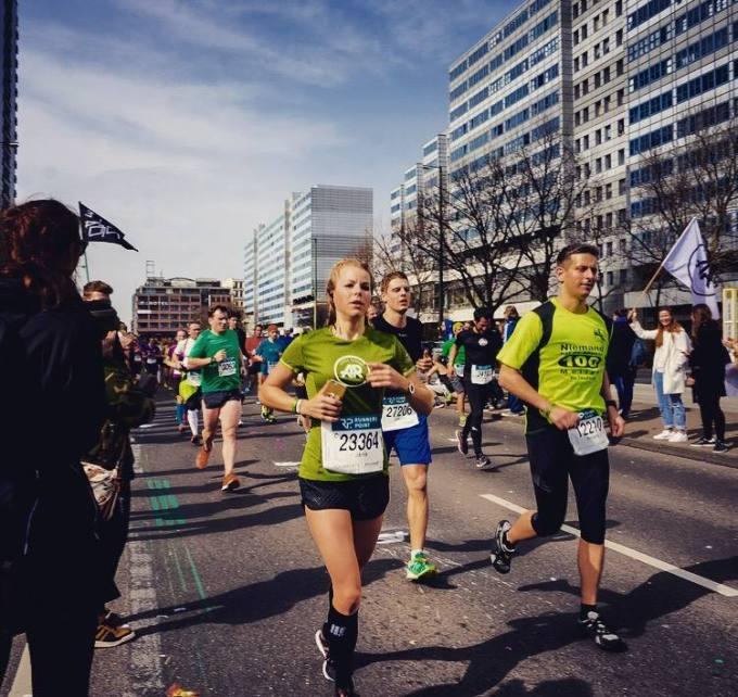 Mein K(r)ampf beim BerlinerHalbmarathon